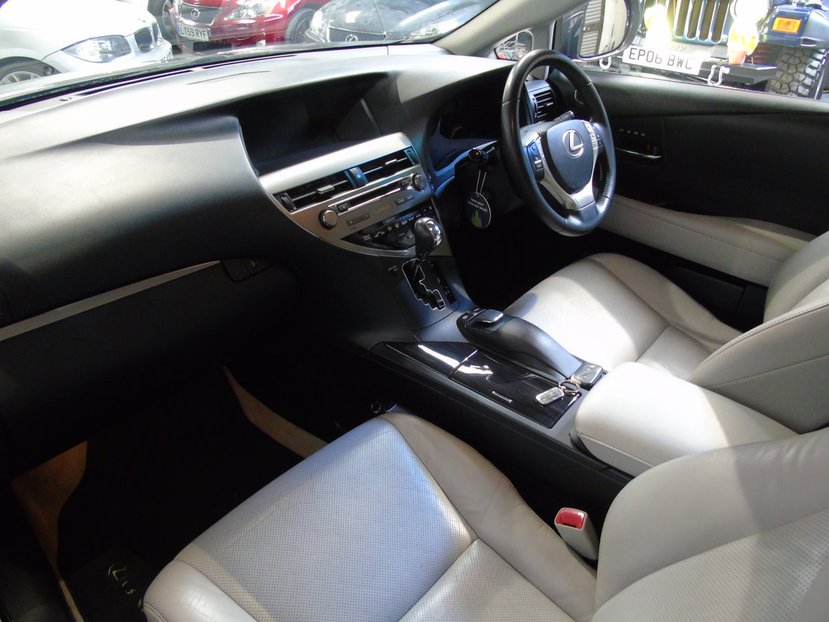 LEXUS RX450H LUXURY 2013 For Sale (picture 4 of 6)