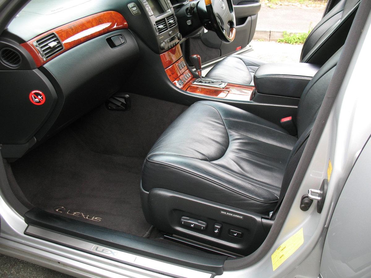 Lexus LS430 2005 '05' Reg, 145k Miles, S/H, Massive Spec For Sale (picture 3 of 6)