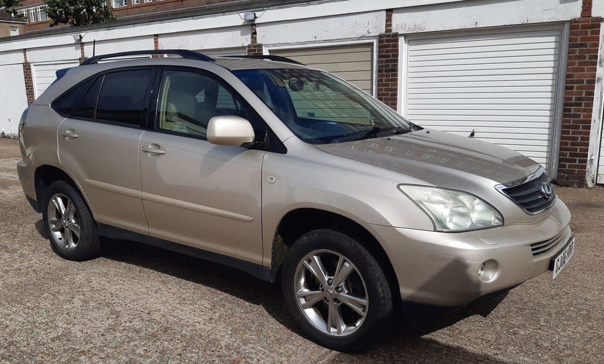 2006 lexus rx400h hybrid service history 6 months waranty For Sale (picture 1 of 6)