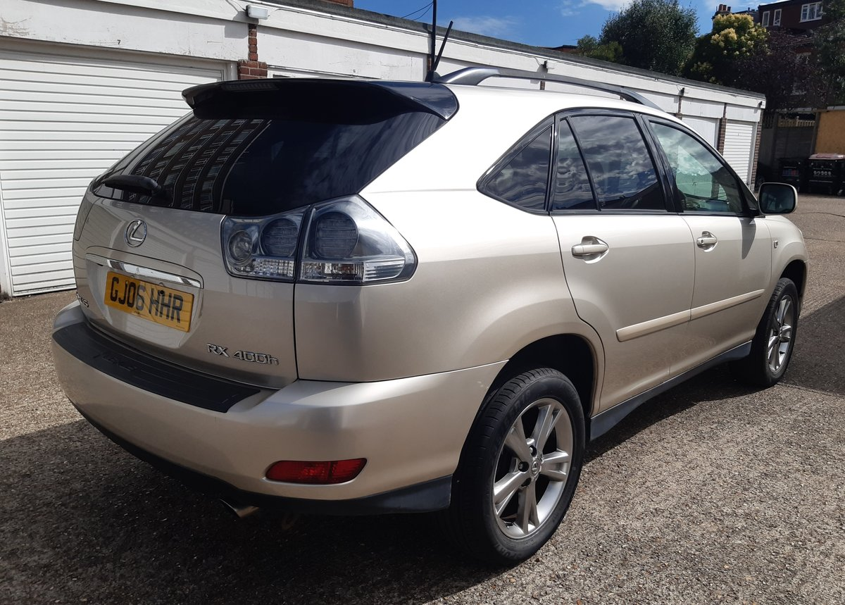 2006 lexus rx400h hybrid service history 6 months waranty For Sale (picture 4 of 6)
