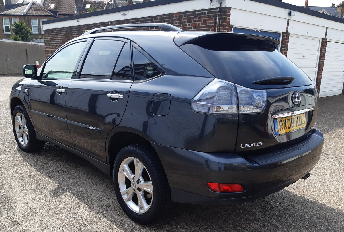 2008 lexus rx400h hybrid service history 6 months waranty For Sale (picture 3 of 6)
