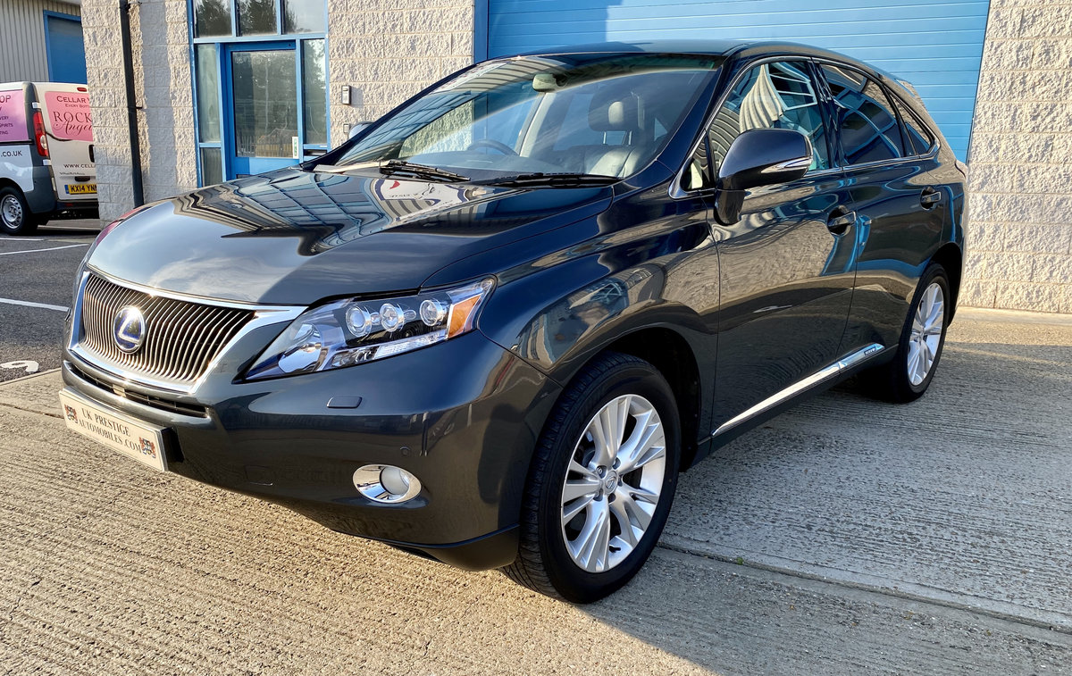 2010 1 OWNER LEXUS RX450H SE-L WITH FULL LEXUS SERVICE HISTORY  SOLD (picture 1 of 6)