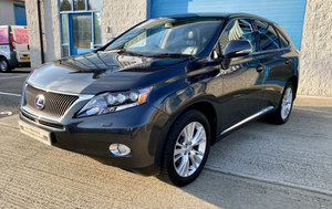2010 1 OWNER LEXUS RX450H SE-L WITH FULL LEXUS SERVICE HISTORY