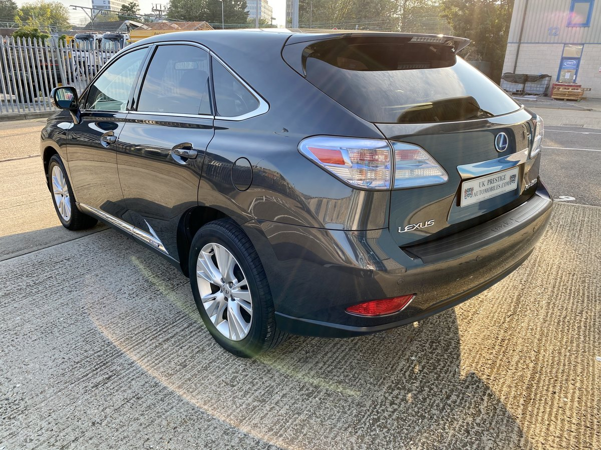 2010 1 OWNER LEXUS RX450H SE-L WITH FULL LEXUS SERVICE HISTORY  SOLD (picture 3 of 6)