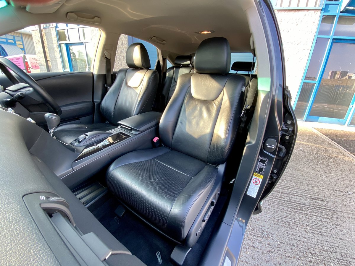 2010 1 OWNER LEXUS RX450H SE-L WITH FULL LEXUS SERVICE HISTORY  SOLD (picture 5 of 6)