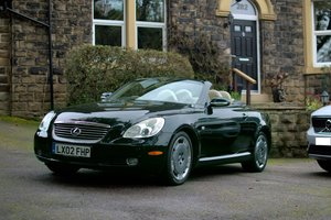 Lexus SC430 Rare Sheldon Green / Rutland Leather