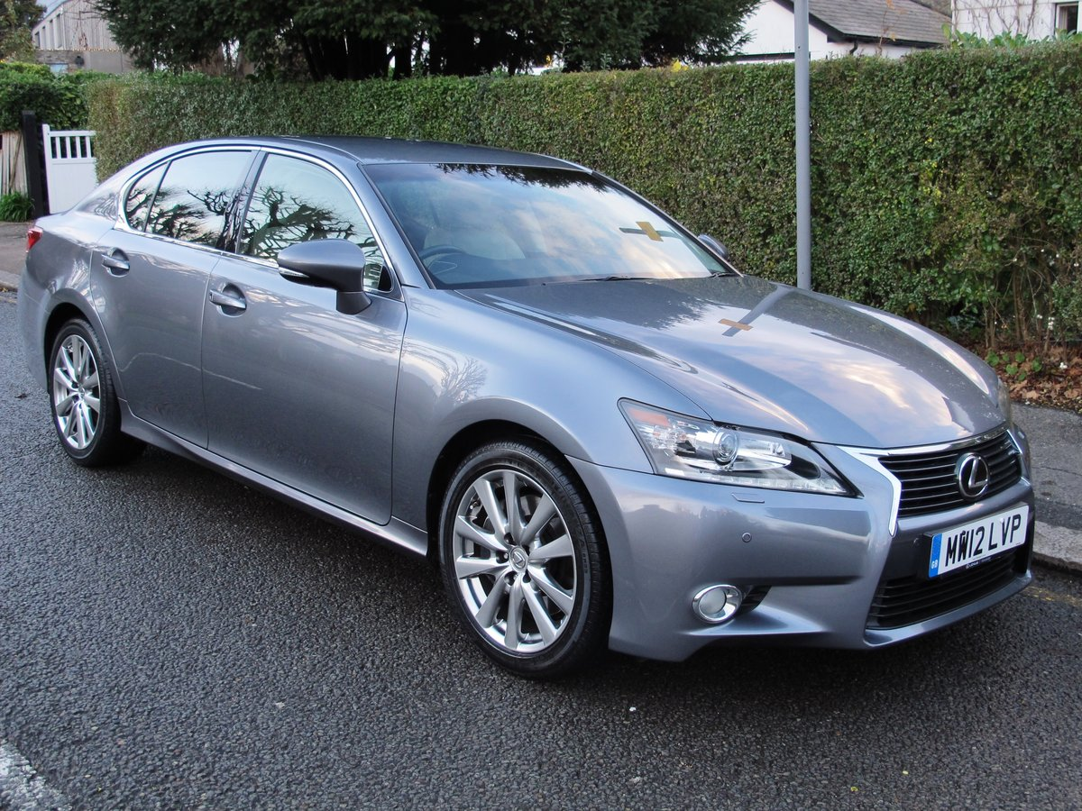 LEXUS GS 250 LUXURY - AUTOMATIC - 2012 - FACLIFT MODEL For Sale (picture 1 of 12)
