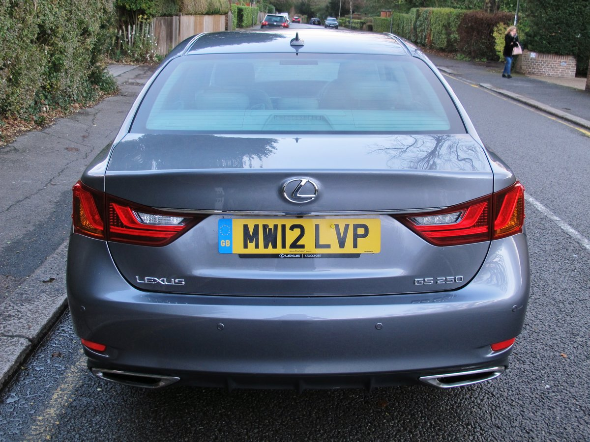 LEXUS GS 250 LUXURY - AUTOMATIC - 2012 - FACLIFT MODEL For Sale (picture 6 of 12)
