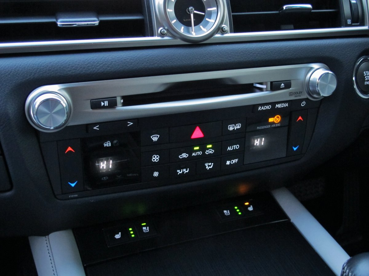 LEXUS GS 250 LUXURY - AUTOMATIC - 2012 - FACLIFT MODEL For Sale (picture 8 of 12)
