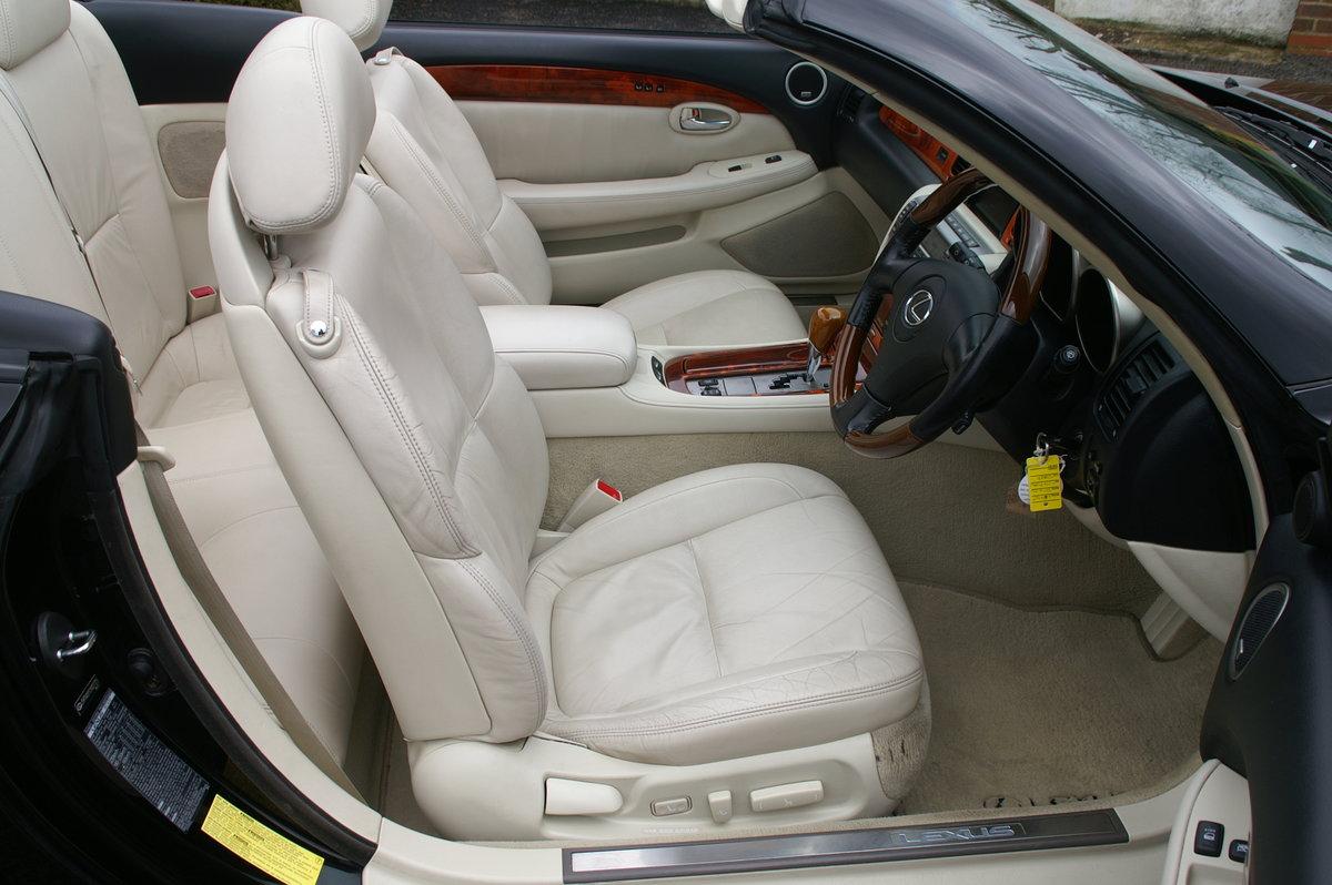2007 Lexus SC430 - 38,000 miles SOLD (picture 6 of 12)