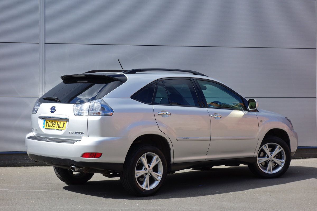 2009 Lexus 400h Petrol/Electric Hybrid FLSH Nav Sunroof Leather For Sale (picture 4 of 12)