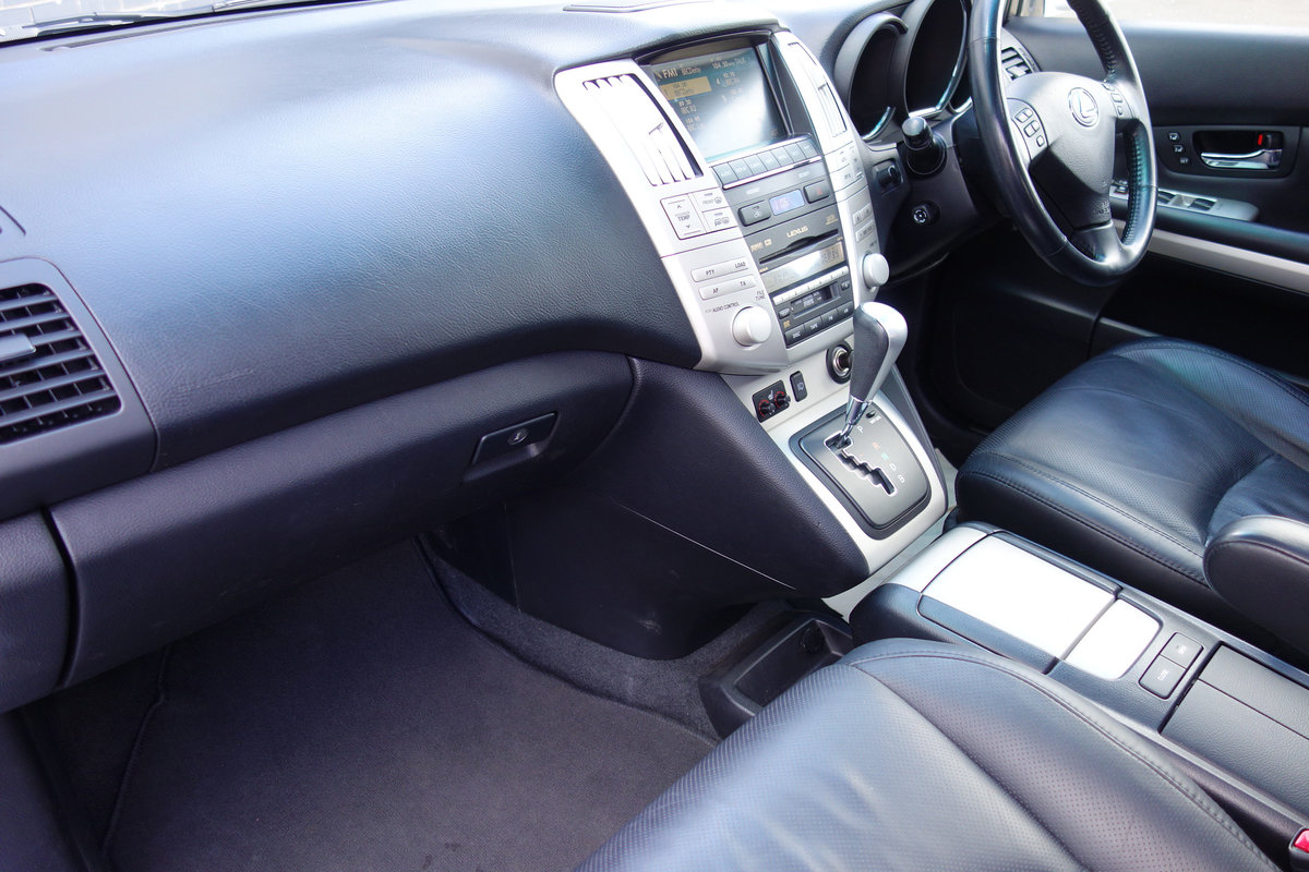 2009 Lexus 400h Petrol/Electric Hybrid FLSH Nav Sunroof Leather For Sale (picture 12 of 12)