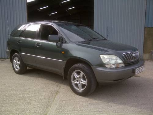 2001 Lexus RX 300 3.0 V6 SE Auto Sat Nav 4x4 May MOT 4new tyres For Sale (picture 1 of 6)