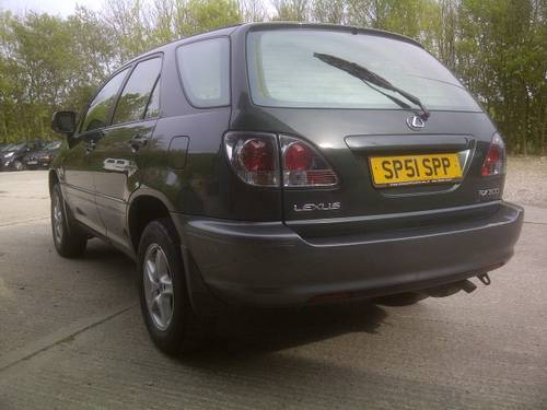 2001 Lexus RX 300 3.0 V6 SE Auto Sat Nav 4x4 May MOT 4new tyres SOLD (picture 6 of 6)