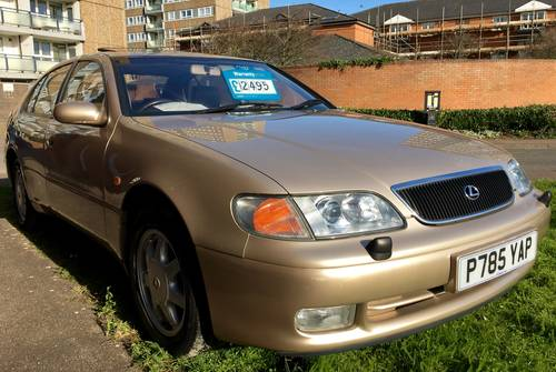 1997 Lexus GS300 Auto only 86000 miles FSH Exceptional  For Sale (picture 1 of 6)
