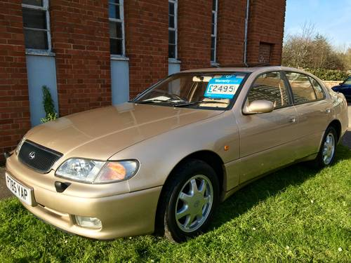 1997 Lexus GS300 Auto only 86000 miles FSH Exceptional  For Sale (picture 5 of 6)