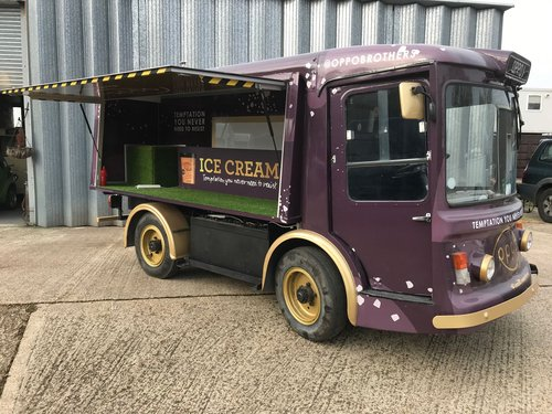 1976 CONVERTED CLASSIC ELECTRIC MILK FLOAT For Sale (picture 6 of 6)