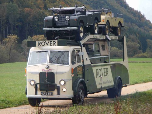 1949 Land Rover Truck, Race Truck For Sale (picture 1 of 6)