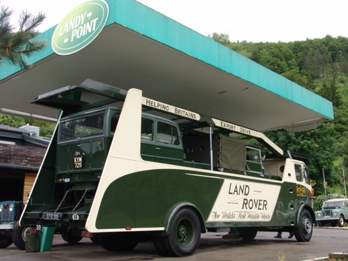 1949 Land Rover Truck, Race Truck For Sale (picture 3 of 6)