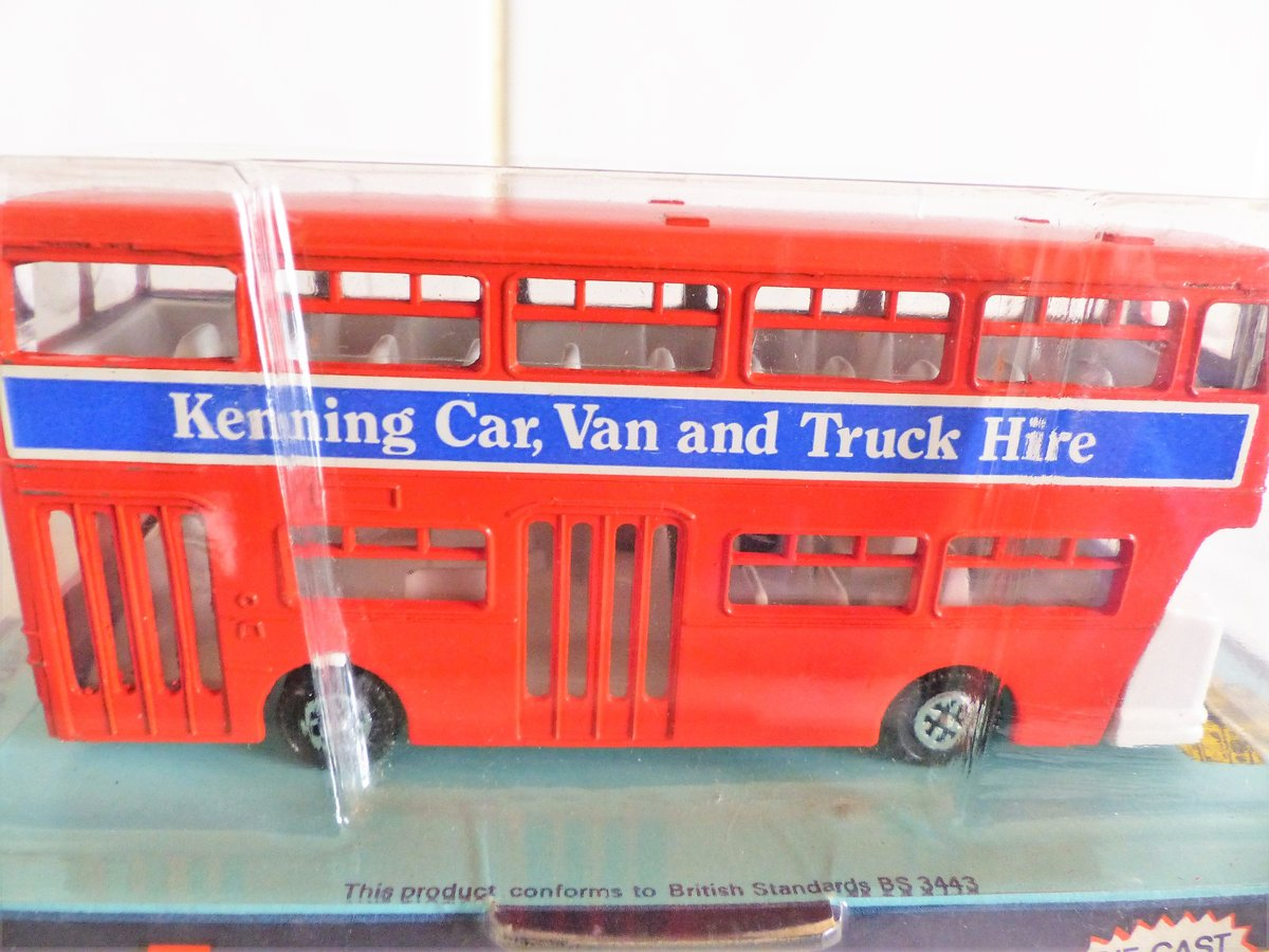 DINKY # 291 LEYLAND ATLANTEAN-KENNING CAR VAN HIRE For Sale (picture 1 of 6)