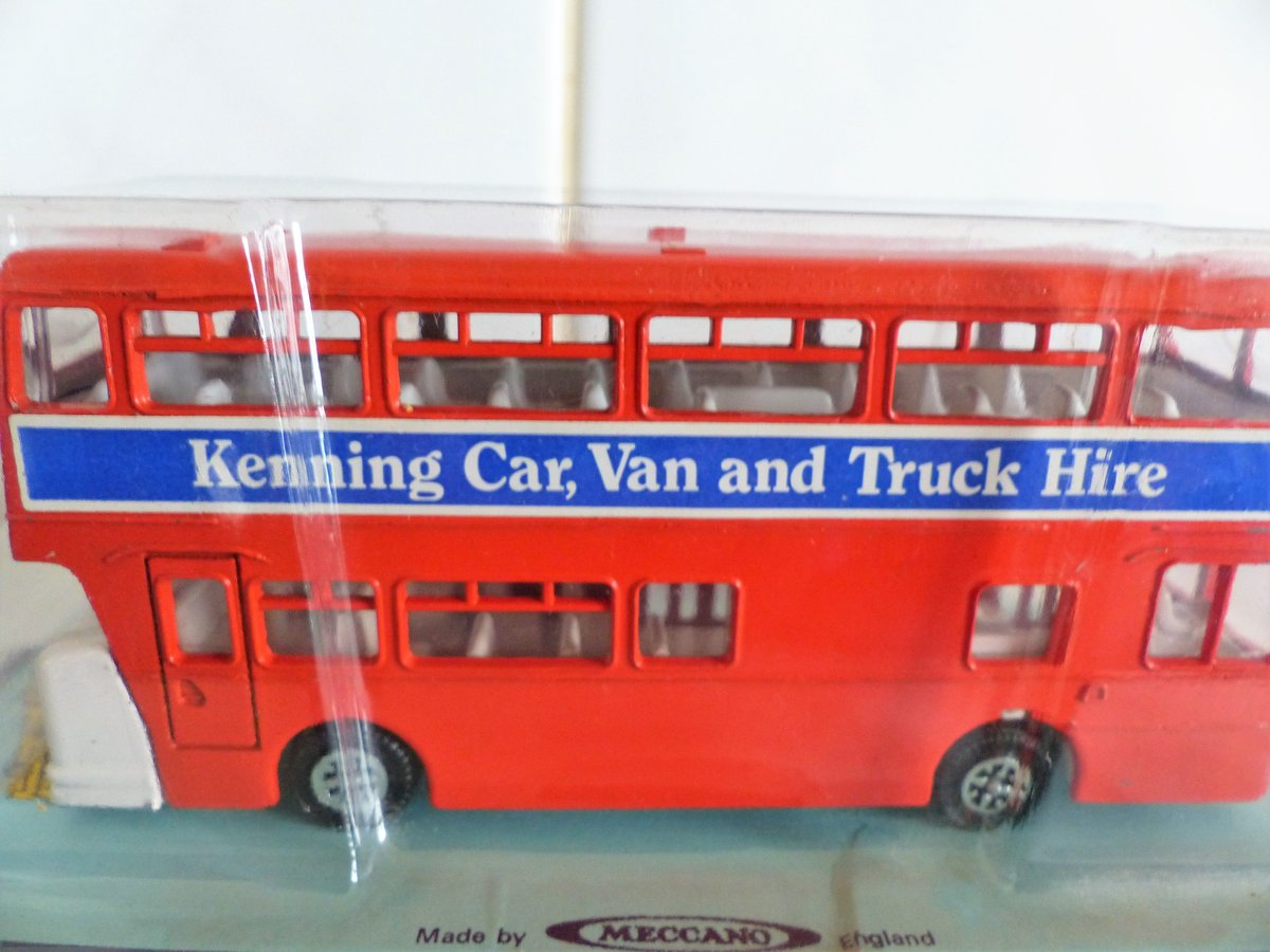 DINKY # 291 LEYLAND ATLANTEAN-KENNING CAR VAN HIRE For Sale (picture 2 of 6)