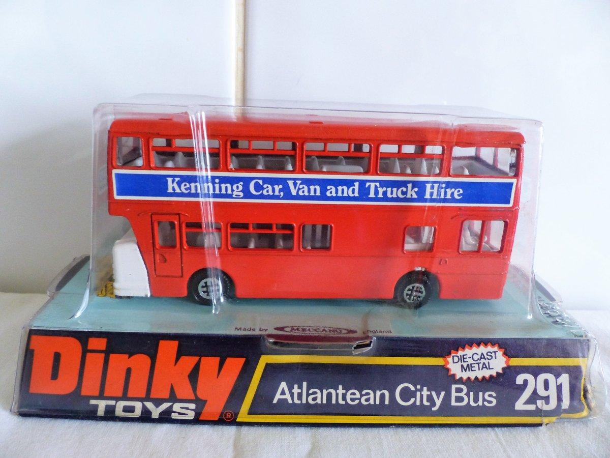 DINKY # 291 LEYLAND ATLANTEAN-KENNING CAR VAN HIRE For Sale (picture 5 of 6)