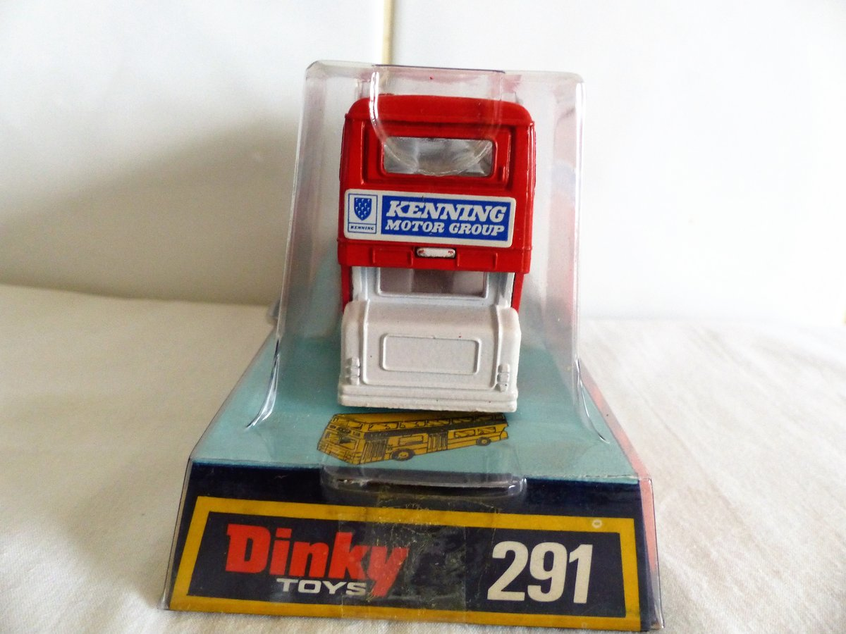 DINKY # 291 LEYLAND ATLANTEAN-KENNING CAR VAN HIRE For Sale (picture 6 of 6)
