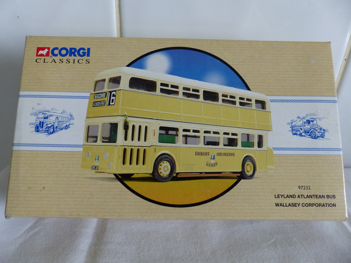 WALLASEY CORPORATION ATLANTEAN BUS 1:50 SCALE. For Sale (picture 1 of 6)
