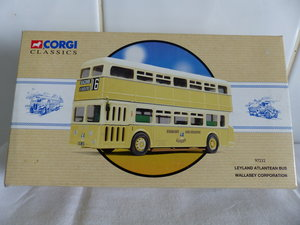 WALLASEY CORPORATION ATLANTEAN BUS 1:50 SCALE. For Sale