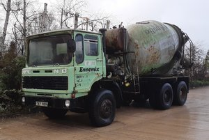 1977 Bison Mixer 502 Fixed Head For Sale