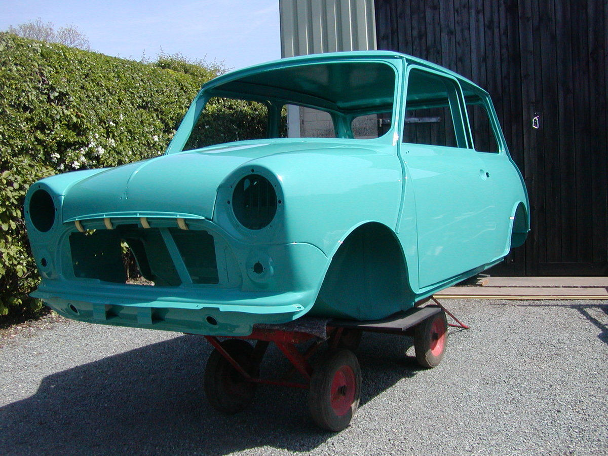 1971 Mini Cooper S recreation Unfinished  Project For Sale (picture 1 of 6)