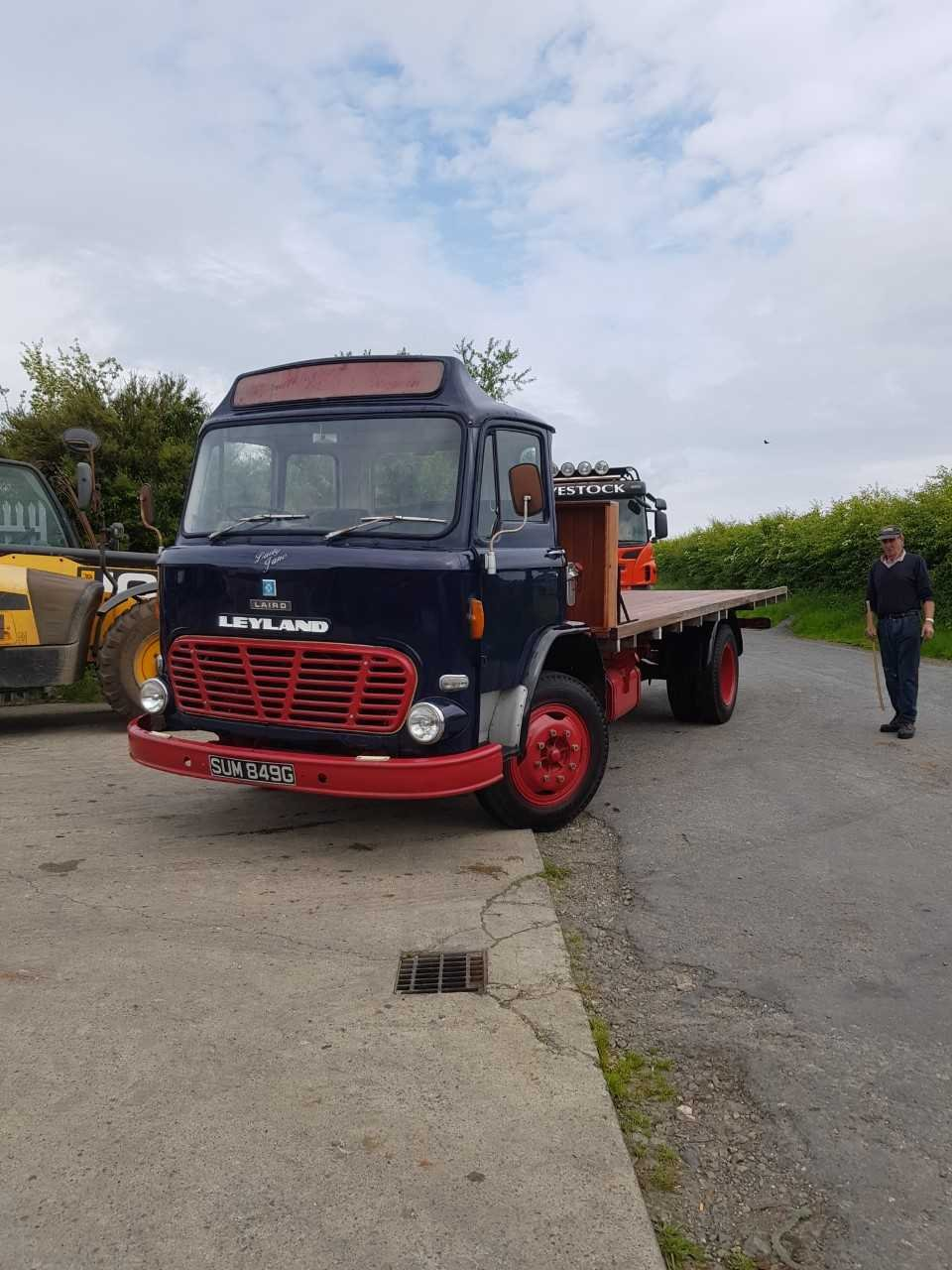 1968 Leyland Laid Flat Bed For Sale (picture 1 of 6)
