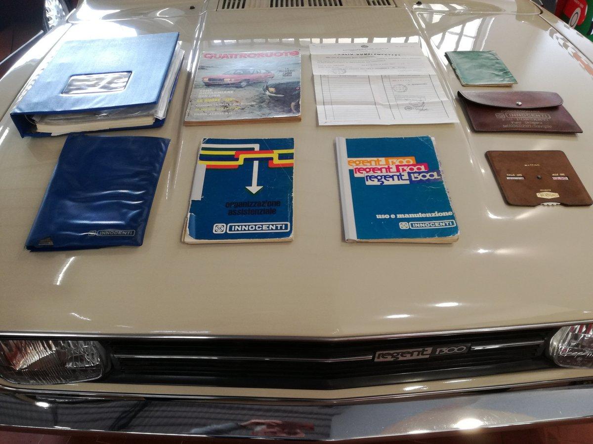 1975 Rare Leyland Innocenti Regent 1300 SOLD (picture 6 of 6)