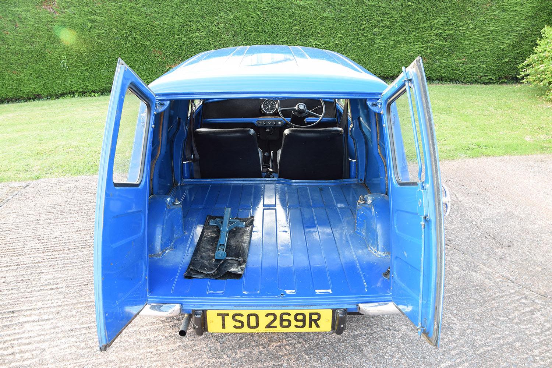 1977 Mini 850 Light Van For Sale (picture 5 of 6)