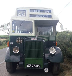 1947 Ex N.I.R.T.B And UTA Single Decker Leyland Bus