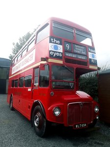 1961 London transport routemaster bus