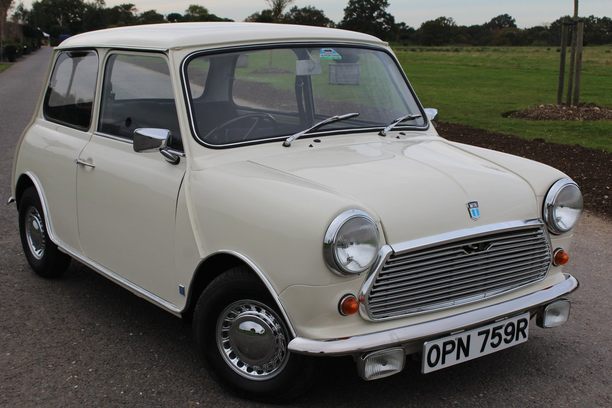 1976 Leyland Mini Automatic, ONLY 24000 MILES For Sale (picture 1 of 6)