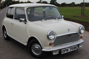 1976 Leyland Mini Automatic, ONLY 24000 MILES For Sale