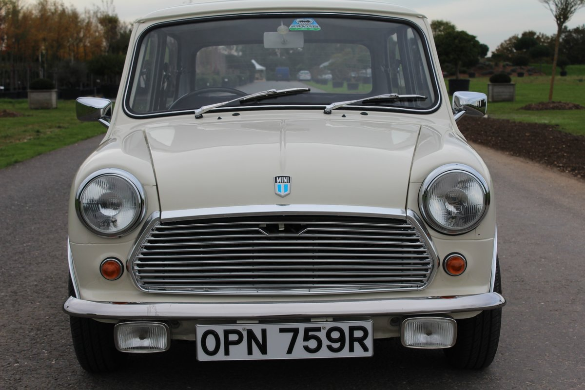 1976 Leyland Mini Automatic, ONLY 24000 MILES For Sale (picture 2 of 6)