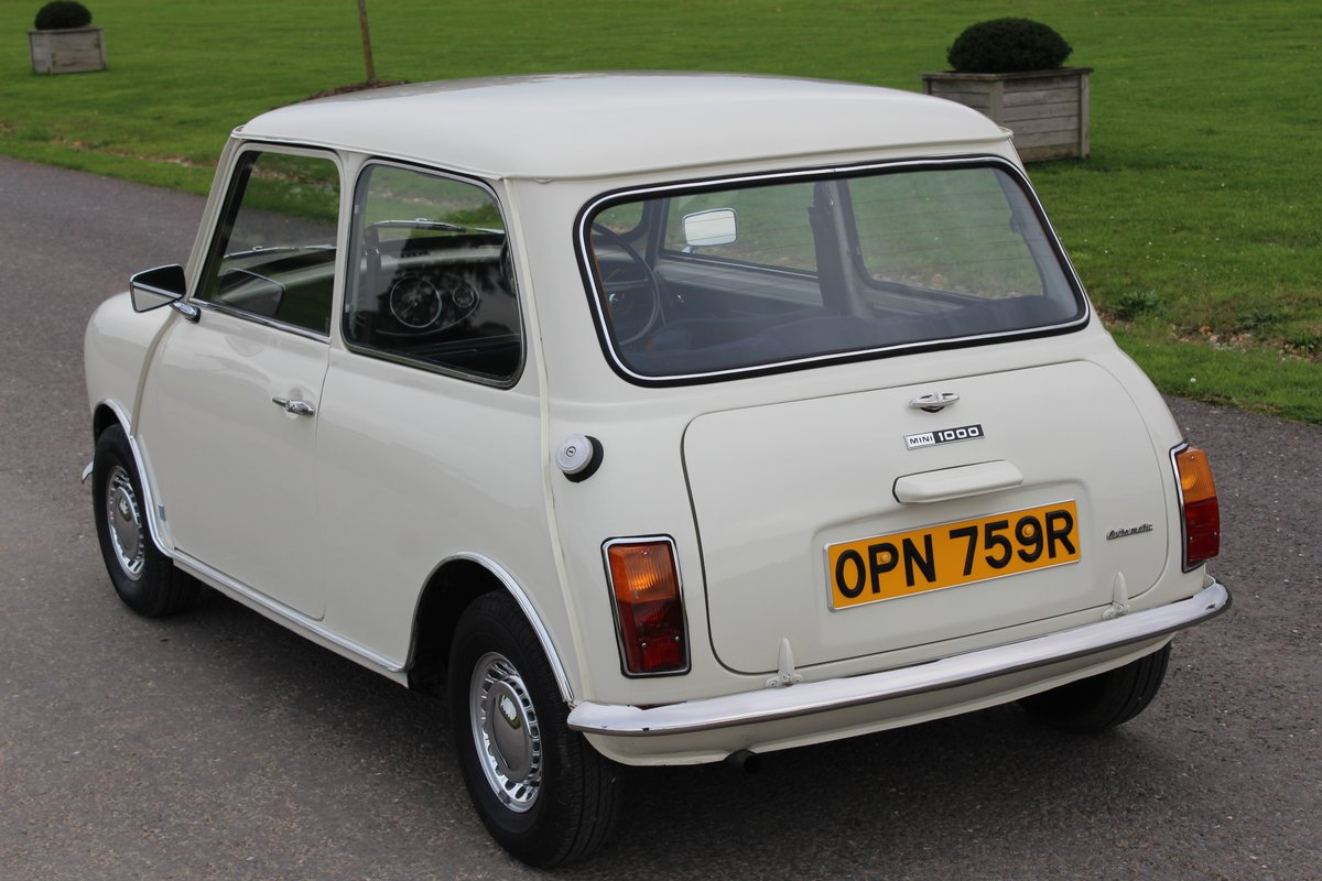1976 Leyland Mini Automatic, ONLY 24000 MILES For Sale (picture 3 of 6)