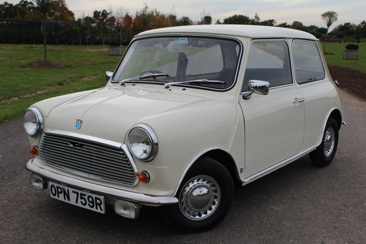 1976 Leyland Mini Automatic, ONLY 24000 MILES For Sale (picture 4 of 6)