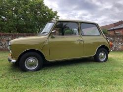 Stunning Yellow Leyland Mini 850