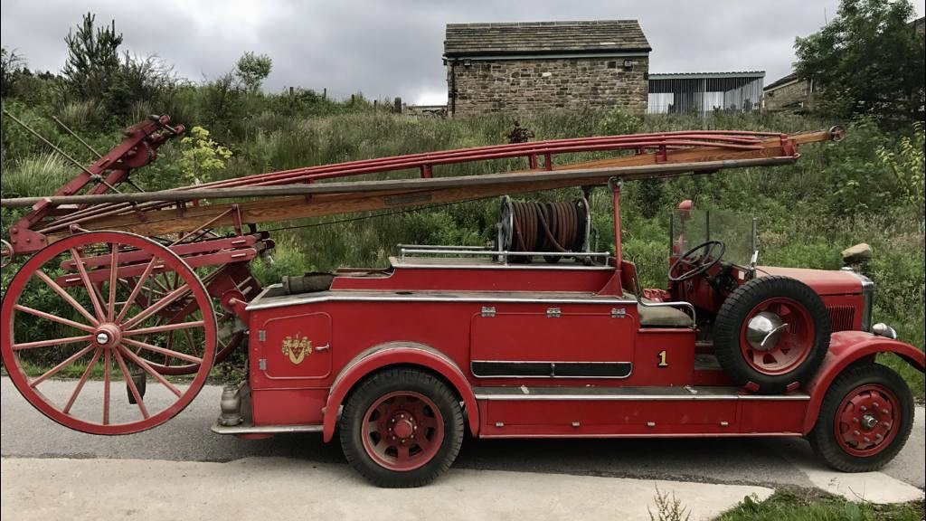 1934 Leyland Cub fire engine For Sale (picture 2 of 6)
