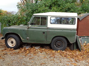 1967 landrover series 2 project