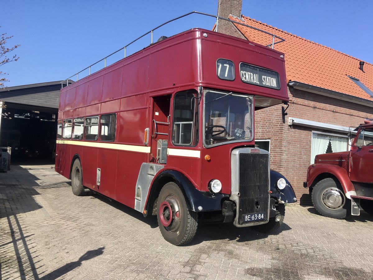 1965 Leyland PD2/40 double decker bus open top For Sale (picture 1 of 6)