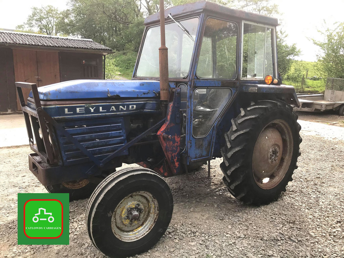 1971 LEYLAND 245 ALL WORKING PERKINS ENGINE TRACTOR SEE VID SOLD (picture 2 of 6)
