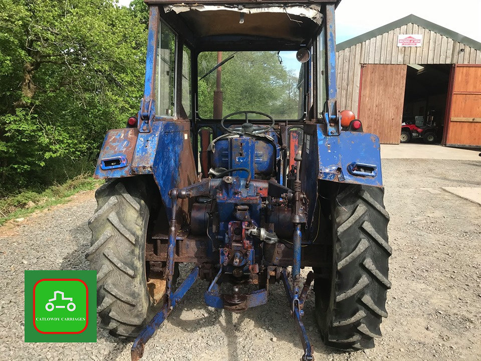 1971 LEYLAND 245 ALL WORKING PERKINS ENGINE TRACTOR SEE VID SOLD (picture 3 of 6)