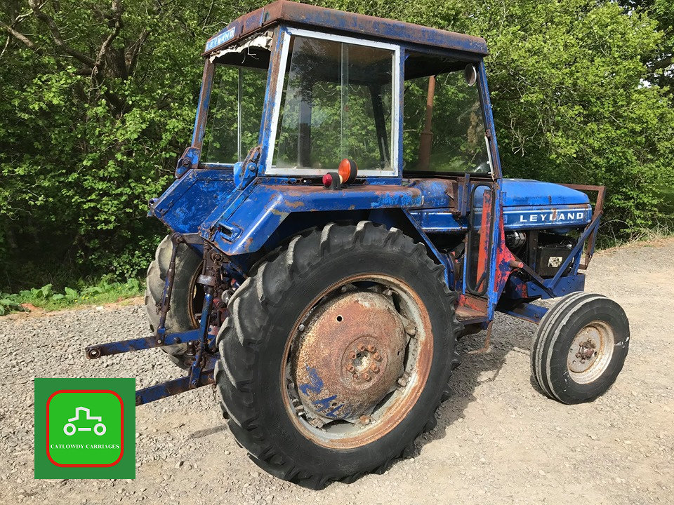 1971 LEYLAND 245 ALL WORKING PERKINS ENGINE TRACTOR SEE VID SOLD (picture 4 of 6)