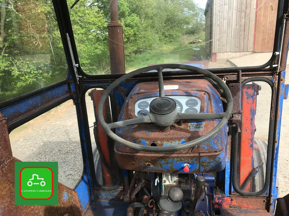 1971 LEYLAND 245 ALL WORKING PERKINS ENGINE TRACTOR SEE VID SOLD (picture 5 of 6)