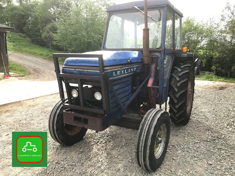 1971 LEYLAND 245 ALL WORKING PERKINS ENGINE TRACTOR SEE VID SOLD (picture 6 of 6)
